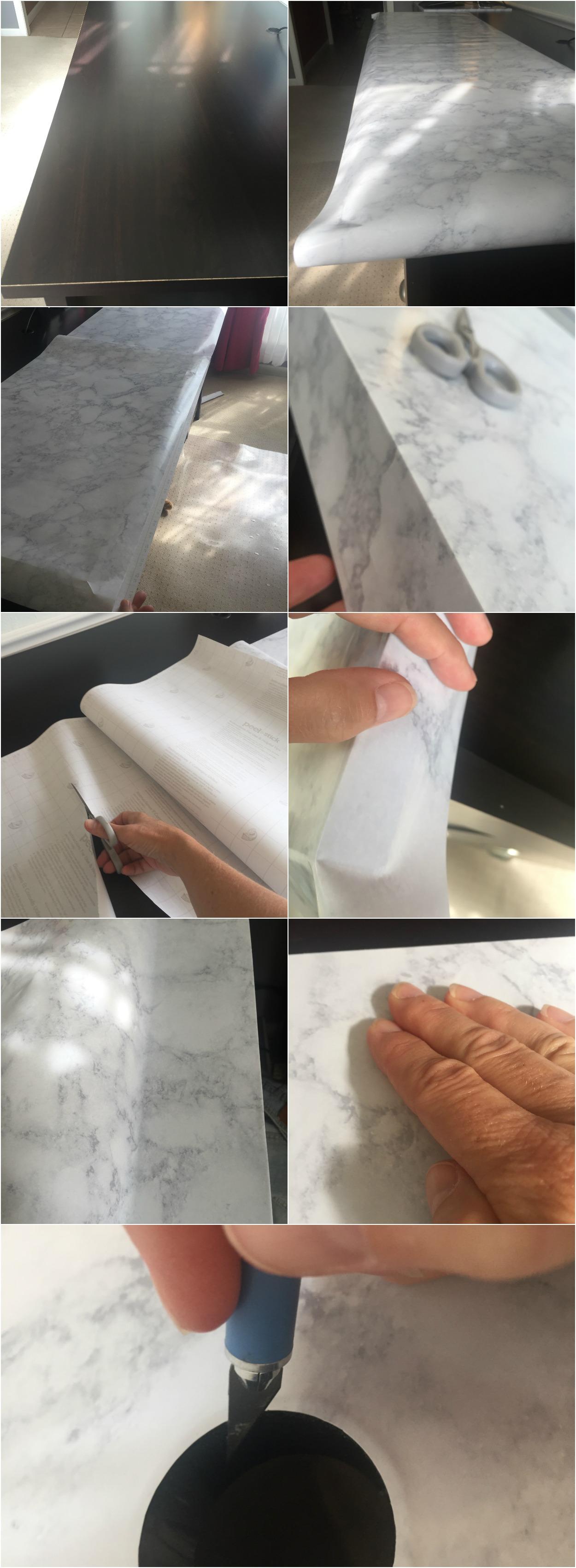 how to marbleize a desktop
