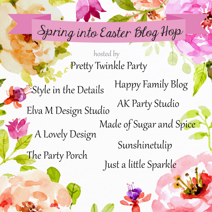 Spring into Easter Blog Hop