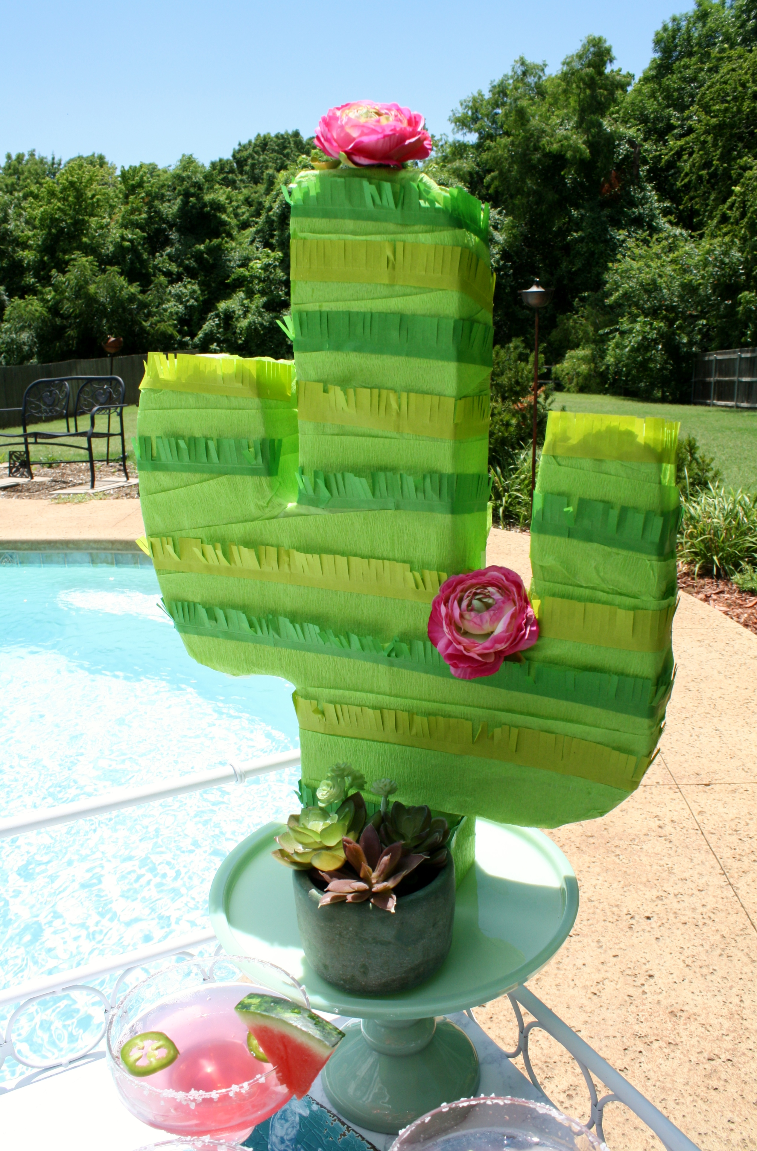How To Make A Cactus Pinata