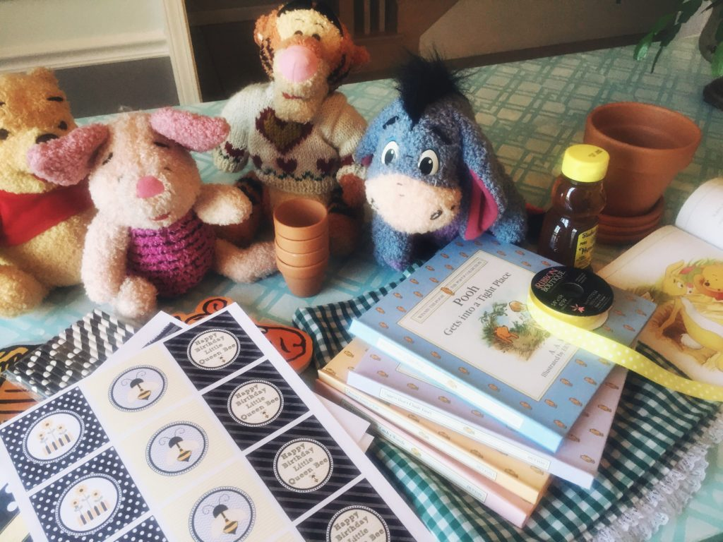How to Host a Pooh Party